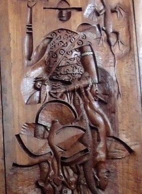 Carybe sculpture Dom Quixote