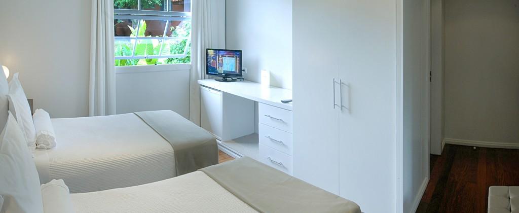 Double room in the Hotel São Martin resort.