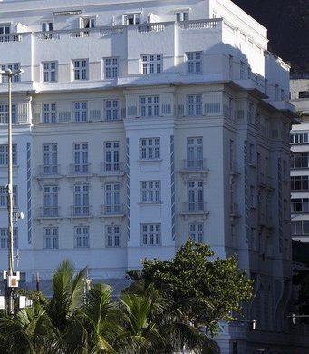 copacabana palace façade droite