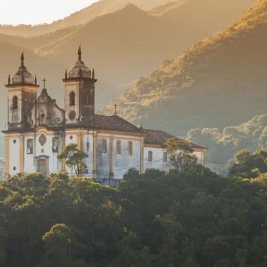 Church in nature Minas Gerais
