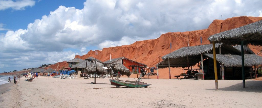 pretty fishing village of Canoa Quebrada