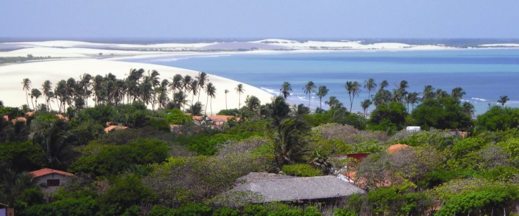 Jericoacoara view of village
