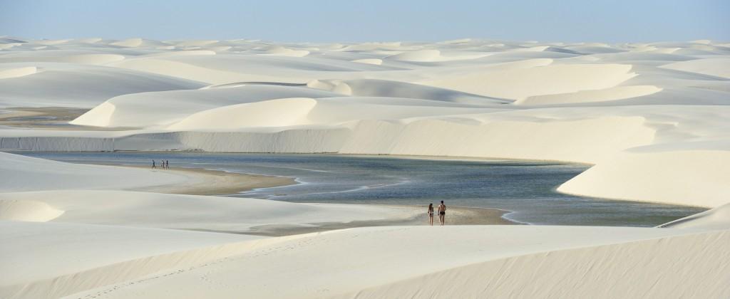 Lençóis do Maranhão desert.
