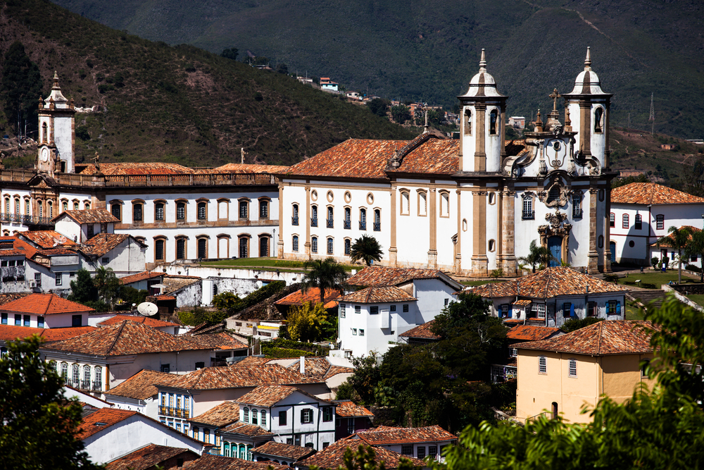Ouro Preto panorama.