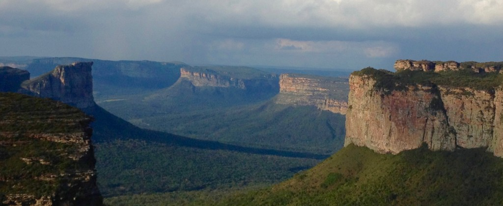 Mountains at Chapada Diamantina.