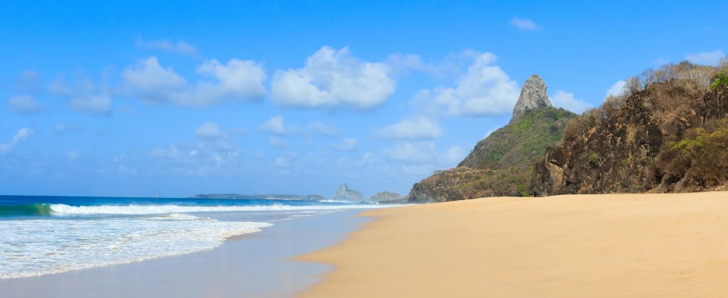 Luxury beach Fernando de Noronha.