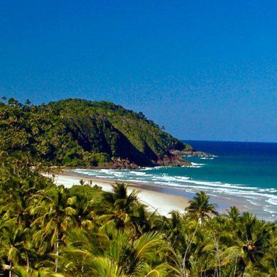 A beautiful view from Txai resort Itacaré.