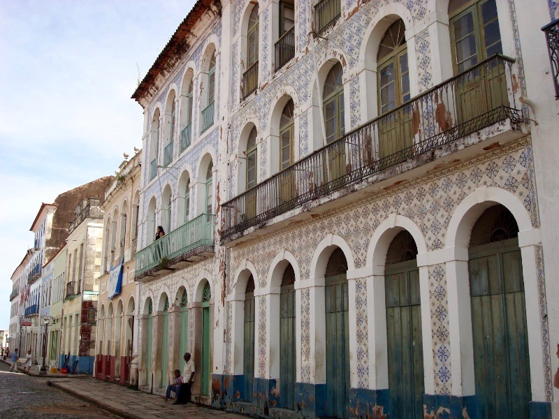The colonial architecture of São Luís.