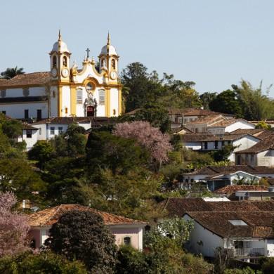 Village of tiradentes in Minas Gerais.