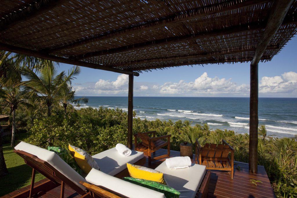 Txai Itacare accommodation at the resort
