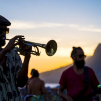 Contemporary concert in Rio de Janeiro.