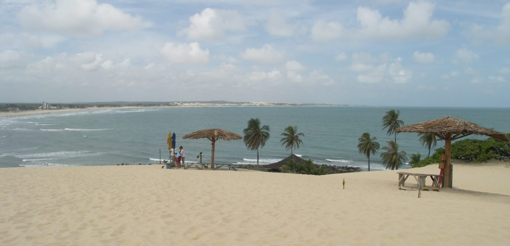 The last beach on the coast before Natal.