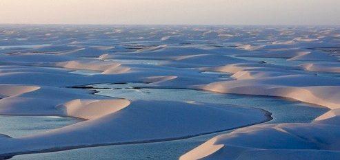 Coucher de soleil dunes Lençois Maranhenses (1)