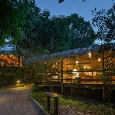 Amazonie lounge Anavilhanas lodge