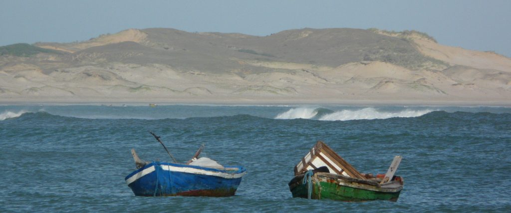 Jericoacoara view with boat