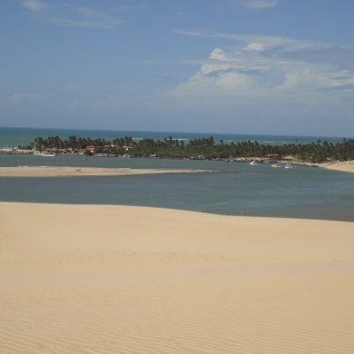 Dune et plage de Mundau Nordeste
