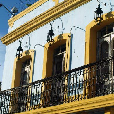façade et balcon Olinda