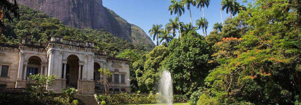 Large park in Rio de Janeiro.