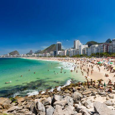 plage de Rio de Janeiro le dimanche