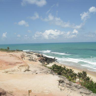 Beach near Natal, Brazil.