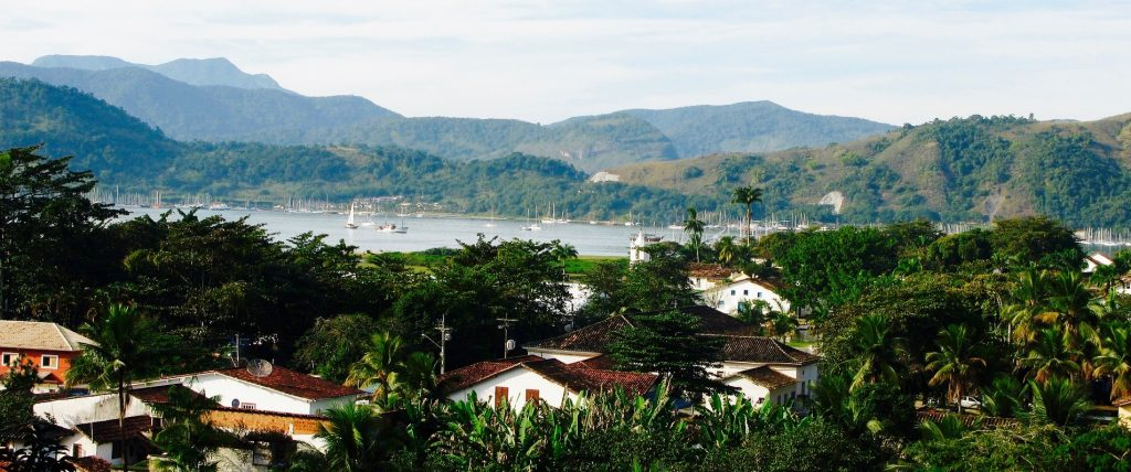 Natural view of Paraty