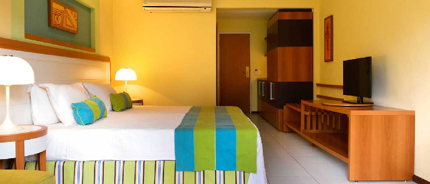 Colourful room in the Pestana São Luís.