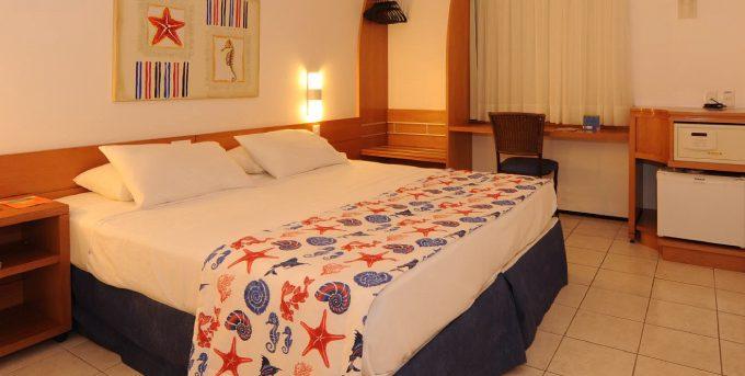 Bedroom in hotel Sonata Iracema.