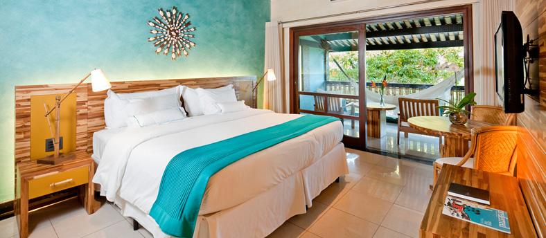 Premium roo in the Tivoli eco - resort at Praia do Forte.