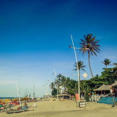 Nordeste plage de Cumbuco