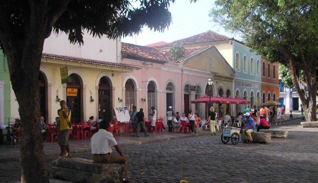 Cultural centre of São Luís do Maranhão.