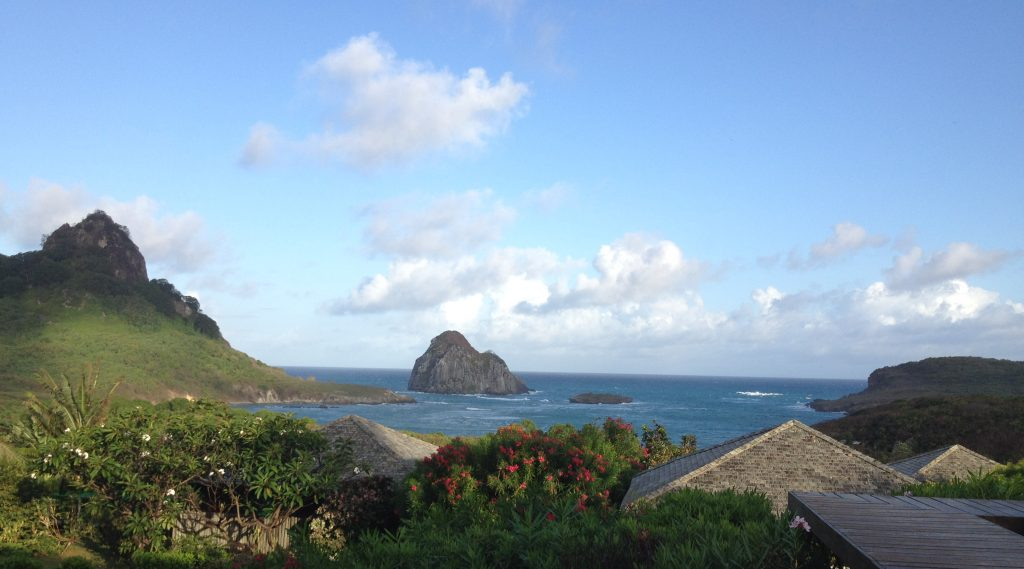 Marvellous view at Fernando de Noronha.