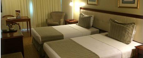 Room in hotel Olinda in Rio de Janeiro.