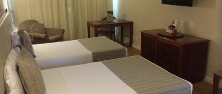 Double room in Hotel Olinda in Copacabana.