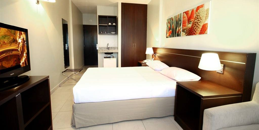 Suite in Hotel Saint Paul in Manaus.