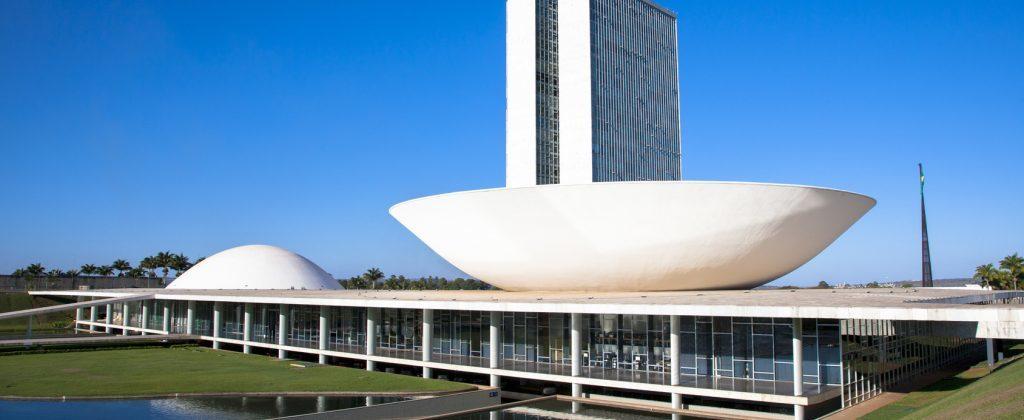 Brasilia - the palace of congress.