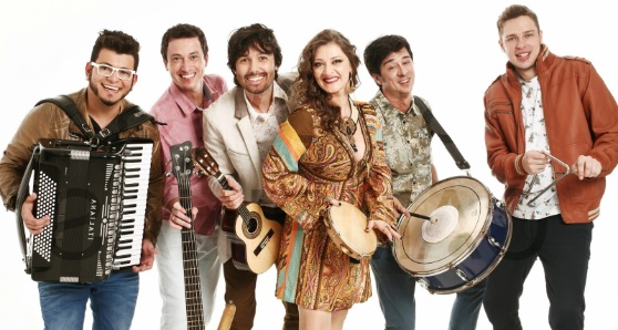 A group of forro musicians.