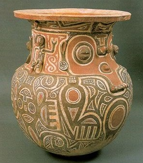 Marajo pottery from Brazil.