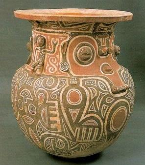 Marajo pottery from Brazil.