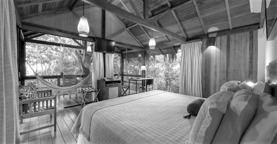 Anavilhanas room in Black and White.