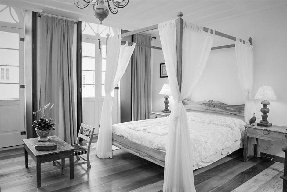 Four poster Bed in Villa Bahia.