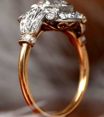 Honeymoon in Brazil Wedding Ring
