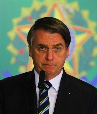Bolsonaro, President of Brazil at the time of writing.