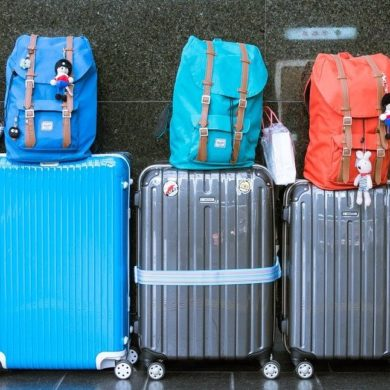 Luggage for Brazil - Hard suitcases.