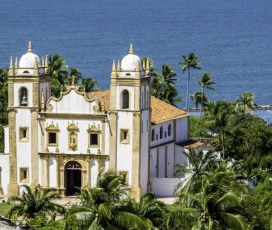 Religous Orders in Brazil - Olinda Seaside Chapel.