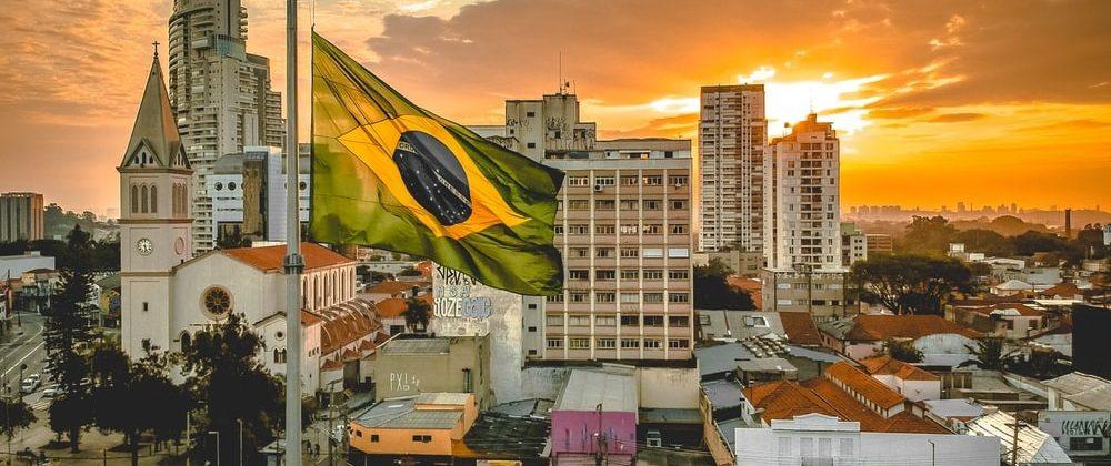 Brazilian Landmark - Brazilian National Flag.